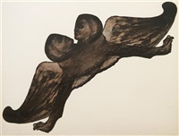 double winged sphinx by leon golub