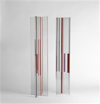 two columns (2 works) by ilya bolotowsky