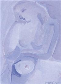 mujer dormida by antonio valdivieso