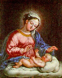 madonna and child by bartholomäus altomonte
