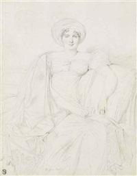 portrait d'une femme, peut-être lady litton by jean-auguste-dominique ingres