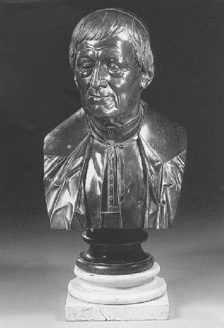 a bust of cardinal newman by edward ryley