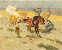 chevaux sauvages by henri sené