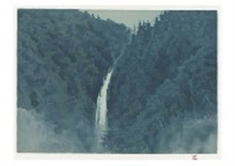sound of waterfall by shinkichi kaii higashiyama