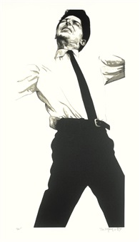 jules (from men in the cities) by robert longo