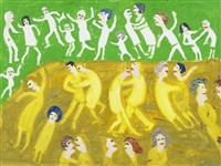dancing figures by fred yates