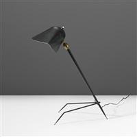 trépied table lamp by serge mouille