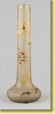 vase rouleau sur piédouche by émile gallé