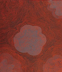 untitled by tjapaltjarri george (dr. george) takata ward