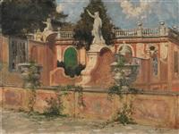 terrazza della villa faraggiana di albisola by giovanni cappa legora