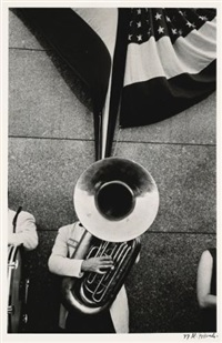 political rally - chicago by robert frank