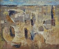 cheetahs in a landscape by gordon vorster
