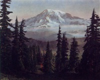 untitled (mt. rainier) by asahel curtis