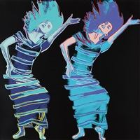 satyric festival song (from martha graham) by andy warhol
