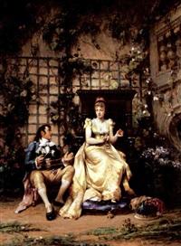 the lover by adrien de boucherville