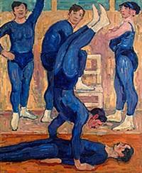 akrobater by gösta von hennigs