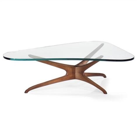 Kagan Coffee Table.Tri Symmetric Coffee Table Model No 412 By Vladimir Kagan On Artnet