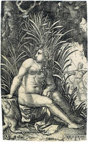 cephalus und procris by georg pencz