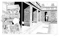 les voyages d'alix (for serie les voyages d'aix + color sheet; 2 works) by jean torton