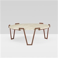 val d'or coffee table by jean royère