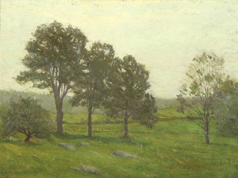 summer landscape probably bloomfield nj by charles warren eaton