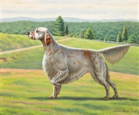 english setter by charles liedl