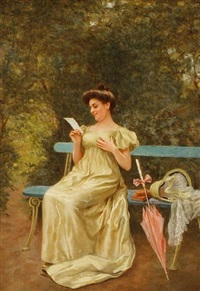 the love letter by g. dalla noce