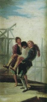el albañil herido by daniel zuloaga