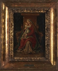 virgen con niño by hans rottenhammer the elder