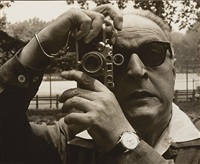 m. f. agha with leica by mehemed fehmy (dr.) agha