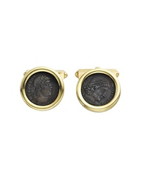 cufflinks (pair) by bulgari