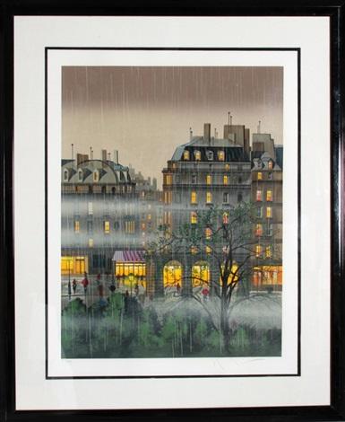 raindrops by hiro yamagata