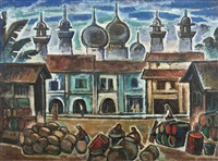 view of arab street by liu kang