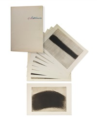 haute coiffure (portfolio of 10) by arnulf rainer