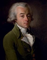 portrait (monsieur de la motte?) by francois-xavier fabre