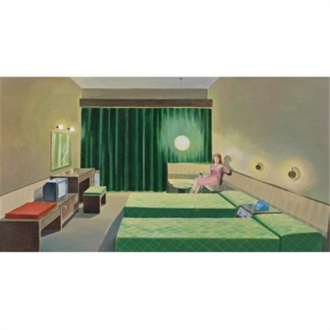 untitled hotel room by wang xingwei