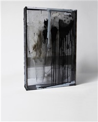 untitled (unmapping, unmaking, unmeaning n.1) by oscar tuazon