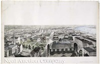new orleans from st. patrick's church 1852 by john william and benjamin franklin smith hill