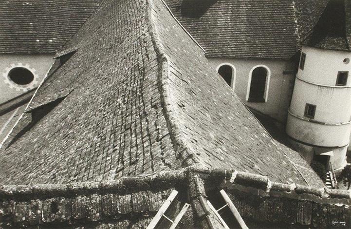 kloster reichenau dach by ilse bing