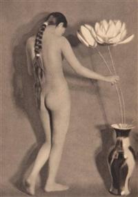 nus féminins (suite of 5 works) by heinz von perckhammer