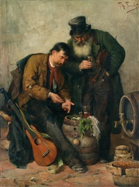 the street musicians by theodor feucht