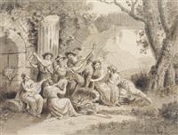 festini di giovane donne by antonio zucchi