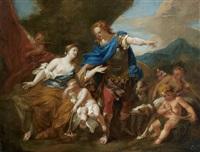 vénus et adonis by pierre-jacques cazes