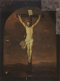 christ on the cross by adriaen de lelie