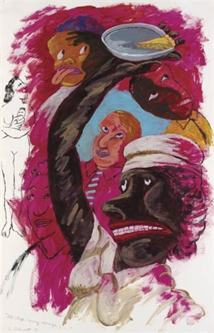 hot stuff coming through by robert h colescott