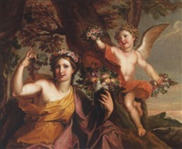 an allegory of autumn by elias van nymegen