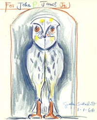 owl by graham sutherland