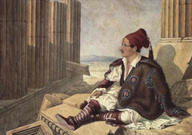 views of greece by arthur abbott
