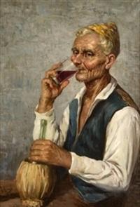 el vaso de vino by joaquín agrasot y juan