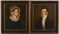 portraits, hardy cryer and wife by ralph eleaser whiteside earl